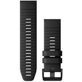 Garmin QuickFit Silicone Watch Band 26mm for Fenix 6X black
